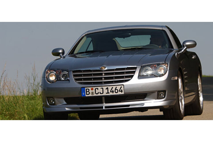 chrysler crossfire srt 6 in the line of fire auto motor und sport. Black Bedroom Furniture Sets. Home Design Ideas