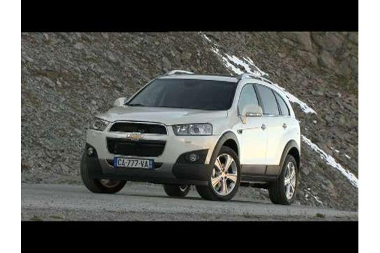 Chevrolet captiva auto motor und sport for Innenraum design programm kostenlos