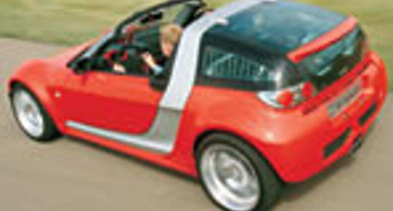 smart roadster tests auto motor und sport. Black Bedroom Furniture Sets. Home Design Ideas