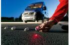 promobil Megatest 2014, Basisfahrzeuge, Messung Sichtverhältnisse, Fiat Ducato