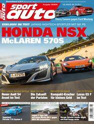 sport auto 10/2016 - Heftcover