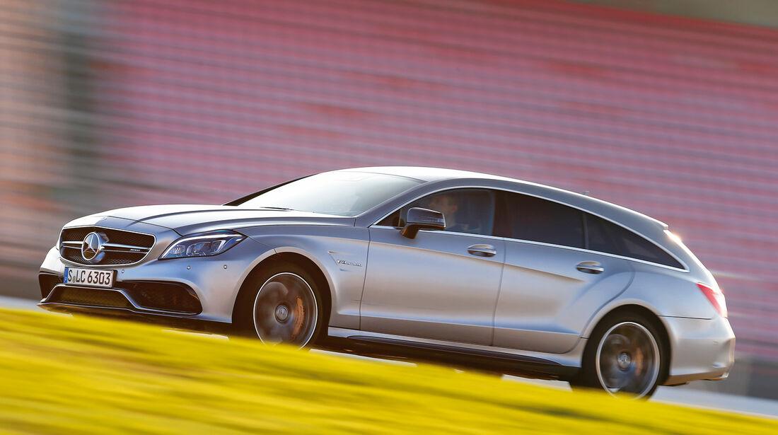 sport auto 11/2014, Mercedes CLS 63 AMG S