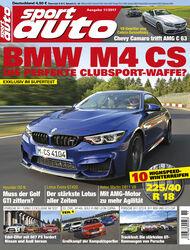 sport auto 11/2017 - Cover