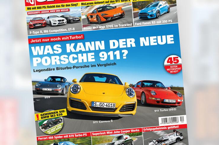 sport auto 12/2015 - Cover - Heft