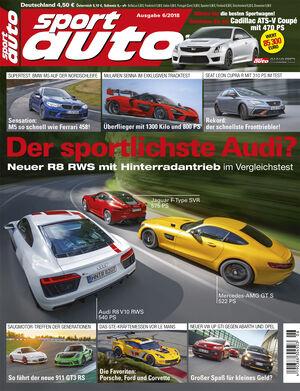 sport auto 6/2018 - Titel - Cover