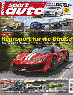 sport auto 7/2018 - Cover