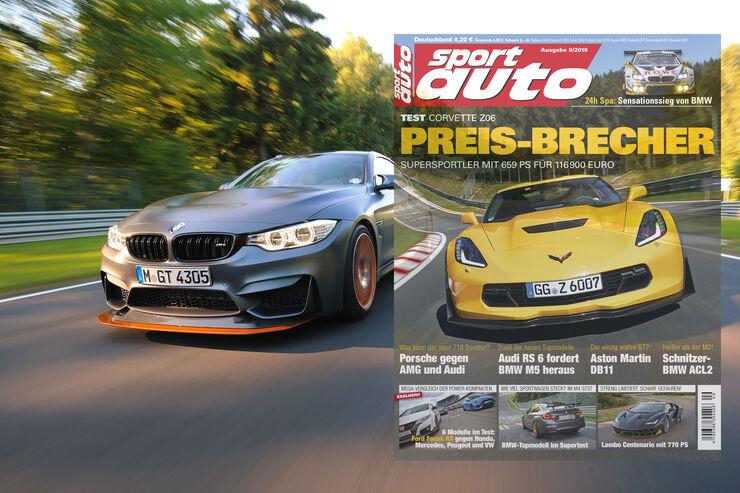 sport auto 9/2016 - Titel - Heft