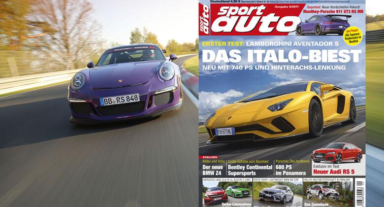 sport auto 9/2017 - Heftvorschau