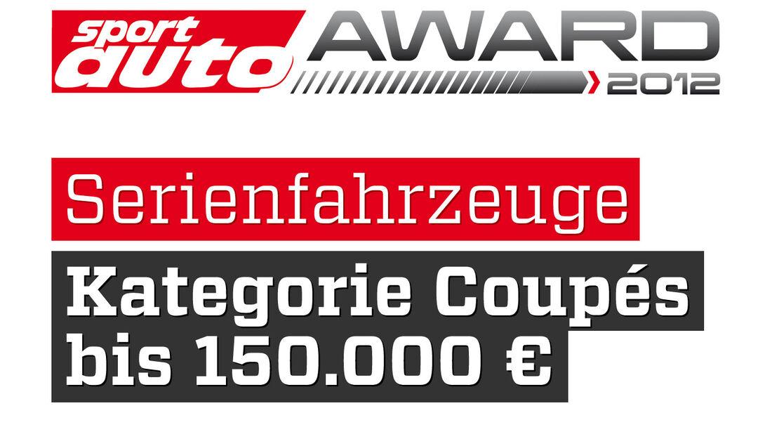 sport auto Award 2012 Serienfahrzeuge Kategorie Coupes bis 80.000 Euro