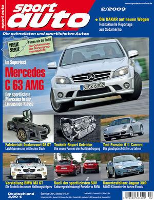 sport auto Heft 2/2009