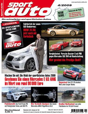 sport auto Heft 4/2009
