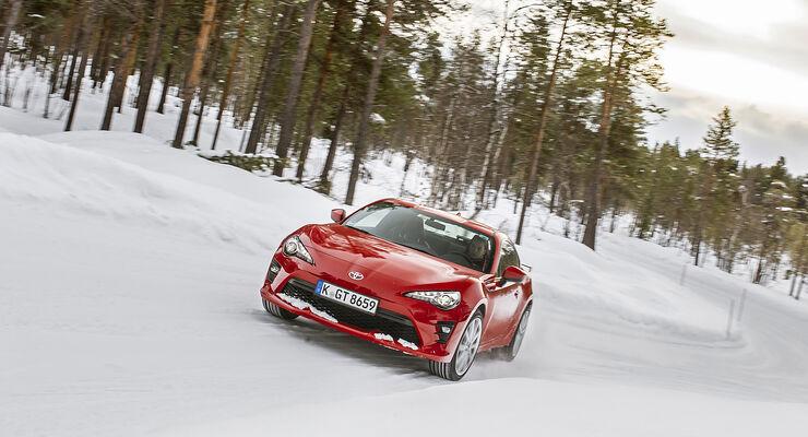 sport auto-Winterreifentest 2017, Reifentest, Toyota GT86