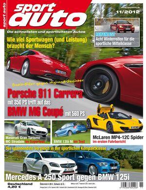 sportauto 11/2012