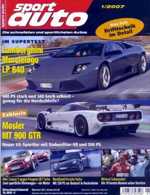 sportauto, Heft 01/2007