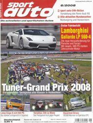 sportauto, Heft 06/2008