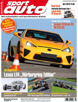 sportauto Heftcover 02/2012