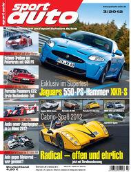 sportauto Heftcover 03/2012
