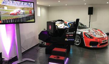 upracer, Rennsimulator, Cayman GT4 Clubsport